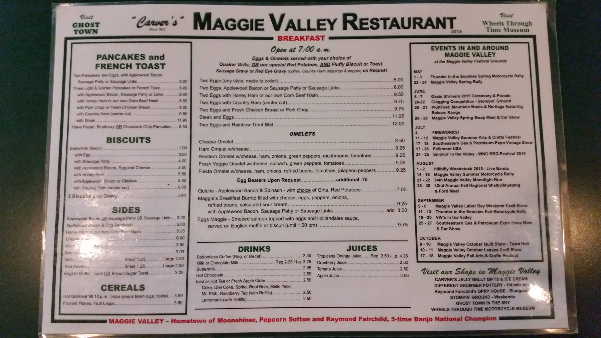 Great Food To Suit Any Taste Maggie Valley Restaurant